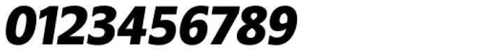 Belle Sans Condensed Blk Ob Font OTHER CHARS