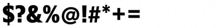 Belle Sans Condensed Blk Font OTHER CHARS