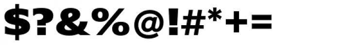 Belle Sans Ex Wide Black Font OTHER CHARS