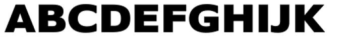 Belle Sans Expanded Blk Font UPPERCASE