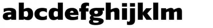 Belle Sans Expanded Blk Font LOWERCASE