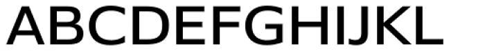 Belle Sans Expanded Font UPPERCASE