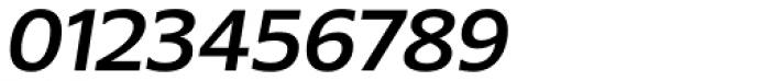 Belle Sans Medium Oblique Font OTHER CHARS
