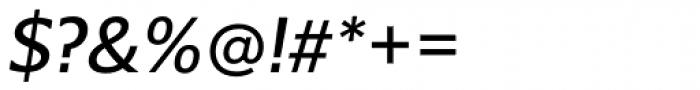 Belle Sans Oblique Font OTHER CHARS
