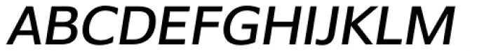 Belle Sans Oblique Font UPPERCASE
