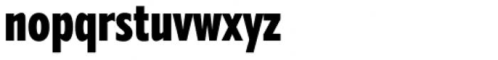 Belle Sans Ultra Cond Blk Font LOWERCASE