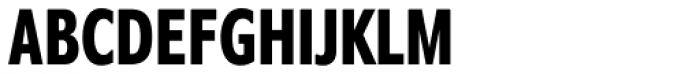 Belle Sans Ultra Cond XBd Font UPPERCASE