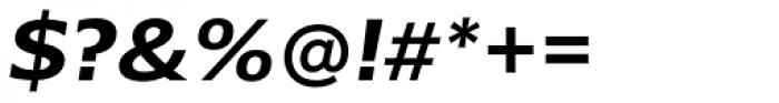 Belle Sans Wide Bold Obl Font OTHER CHARS