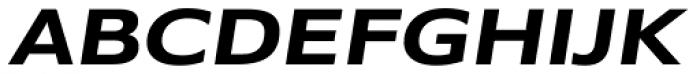 Belle Sans Wide Bold Obl Font UPPERCASE