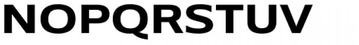 Belle Sans Wide Bold Font UPPERCASE