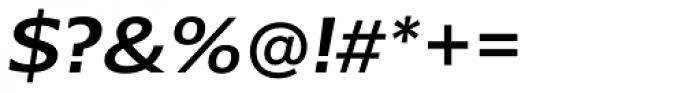 Belle Sans Wide Medium Obl Font OTHER CHARS