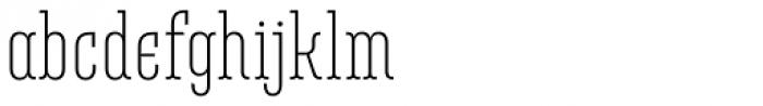Belleville 07h FY Light Font LOWERCASE