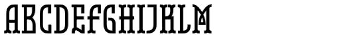 Belleville 19h FY Bold Font UPPERCASE