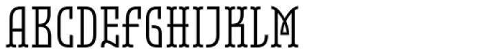Belleville 19h FY Regular Font UPPERCASE