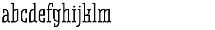 Belleville 19h FY Regular Font LOWERCASE