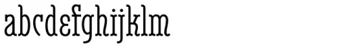 Belleville 23h FY Regular Font LOWERCASE