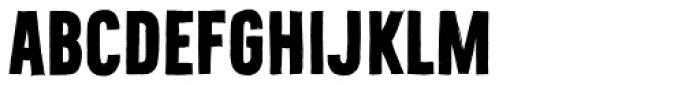 Bellfort Draw Dark Bold Font UPPERCASE