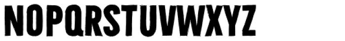 Bellfort Draw Dark Bold Font LOWERCASE