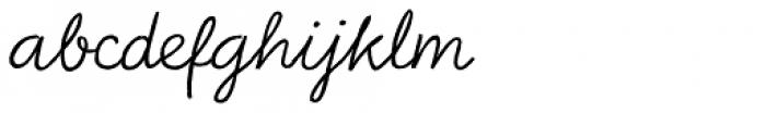 Bellfort Draw Script Font LOWERCASE