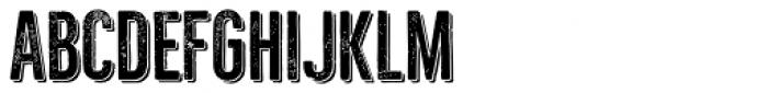 Bellfort Press Shadow Font UPPERCASE