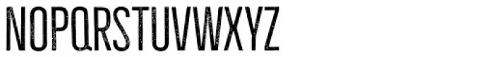 Bellfort Press Thin Font LOWERCASE