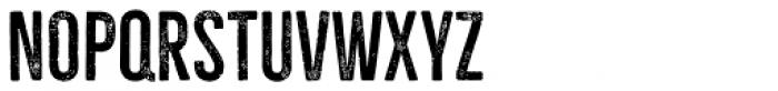 Bellfort Press Font LOWERCASE