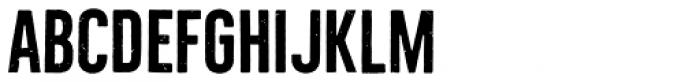 Bellfort Rough Bold Font UPPERCASE