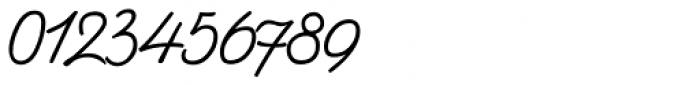 Bellfort Script Light Font OTHER CHARS