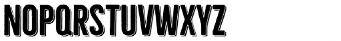 Bellfort Shadow Bold Font LOWERCASE