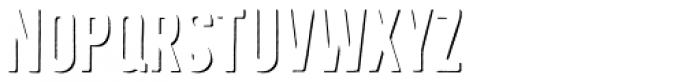 Bellfort Shadow Only Bold Font LOWERCASE