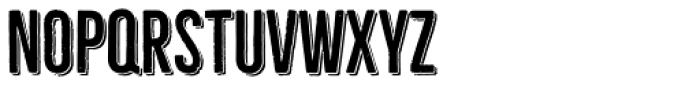 Bellfort Shadow Font LOWERCASE