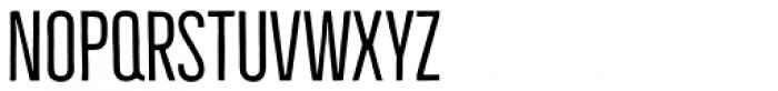 Bellfort Thin Font UPPERCASE