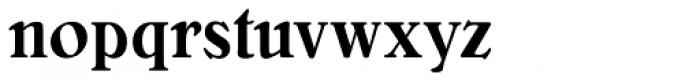 Bellini Condensed RR Medium Font LOWERCASE
