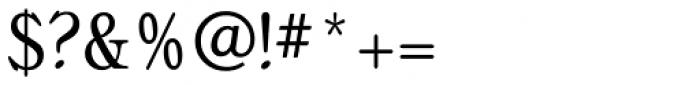 Bellini Condensed RR Original Font OTHER CHARS