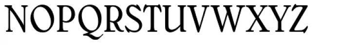 Bellini Condensed RR Original Font UPPERCASE