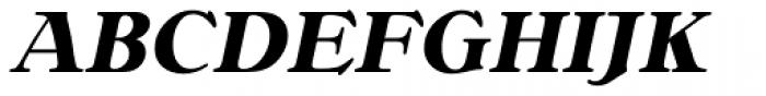 Bellini RR Bold Italic Font UPPERCASE