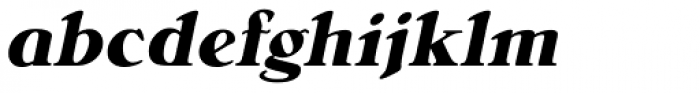 Bellini RR Bold Italic Font LOWERCASE