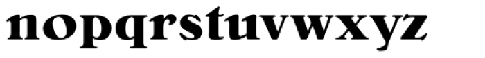 Bellini RR Bold Font LOWERCASE