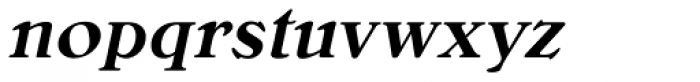 Bellini RR Medium Italic Font LOWERCASE
