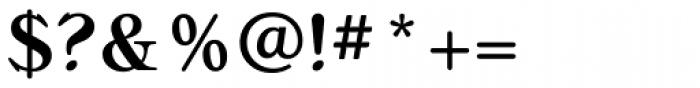 Bellini RR Medium Font OTHER CHARS