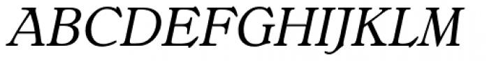 Bellini RR Original Italic Font UPPERCASE