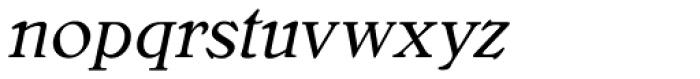 Bellini RR Original Italic Font LOWERCASE