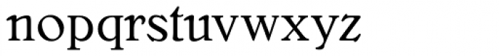 Bellini RR Original Font LOWERCASE