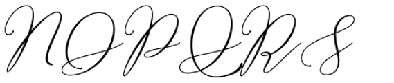 Bellisia Bold Script Font UPPERCASE