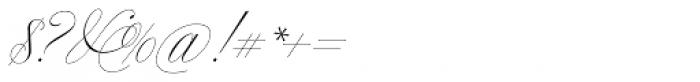 Bellissima Script Pro Font OTHER CHARS