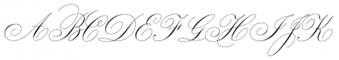 Bellissima Script Pro Font UPPERCASE