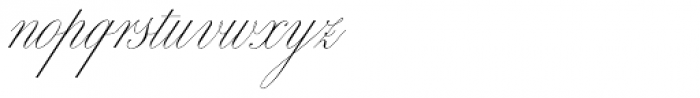 Bellissima Script Pro Font LOWERCASE