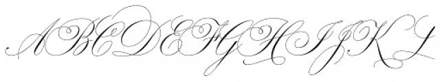 Bellissima Script Redux Font UPPERCASE