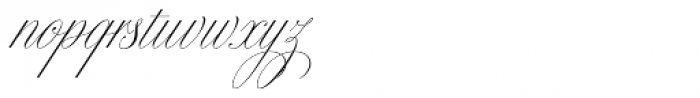 Bellissima Script Redux Font LOWERCASE