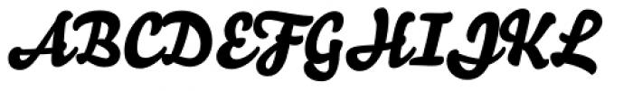 Bello Script Pro Font UPPERCASE